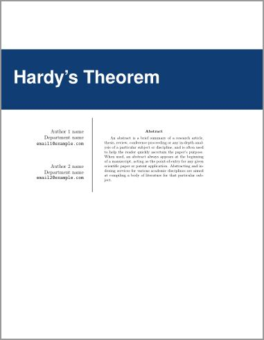 Software thesis title